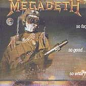So Far, So Good...So What! by Megadeth (Cassette, Jan-1988, Capitol/EMI Records)