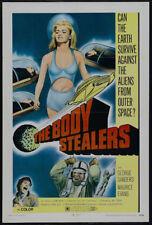 The Body stealers George Sanders Sci-fi movie poster