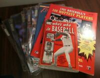 Lot of BECKETT BASEBALL CARD MONTHLY Magazines 1992 & 1993 Good Condition