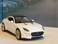 PERSONALISED JAGUAR F TYPE WHITE 1.38 DIECAST MODEL CAR NEW BOYS TOYS CHRISTMAS
