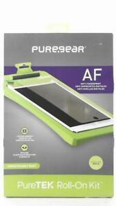 PureGear PureTEK Roll On Kit For iPad Air Screen Protector Smooth Tray HD Clear