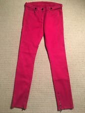 Camilla and Marc - Berry Paradise Super Skinny Pink Jeans - Size 28 (AU 10)