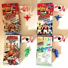 Mighty Morphin POWER RANGERS Candy Toys 1990's Japan