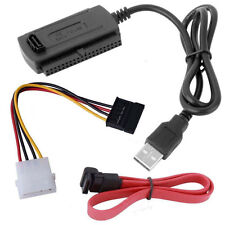 Support For 2.5/3.5 Drive Hard SATA/PATA/IDE to USB 2.0 Adapter Converter Cable