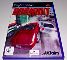 Burnout PS2 PAL *No Manual*