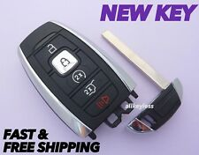 OEM LINCOLN NAVIGATOR MKX smart keyless remote fob transmitter +NEW KEY INSERT