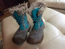 Youth Kids Winter Keen Leather Boots Size US 3