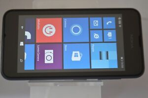Nokia Lumia 530 - 4GB - Dark Gray (Unlocked) Smartphone  GRADE B
