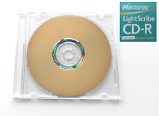 Memorex LightScribe CD-R / 52x / 700MB / 80min