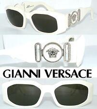 Gianni versace 414 gafas de sol Weiss Medusa 413 glasses lujo gafas 424 estuche