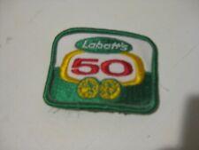 Labatt 50   Sew On Patch