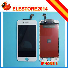 "Pantalla Display Completa para Iphone 6 4.7"" LCD Tactil Blanco Blanca con Marco"