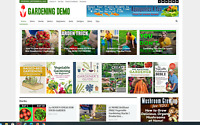 Gardening guides/ tips/ Affiliate product website,100% automated content