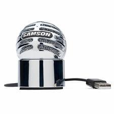 SAMSON METEORITE MIC - Microfono a Condensatore USB - Chrome