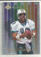 Dan Marino 1998 Collector's Edge Miami Dolphins Spectrum Insert Card # 11 of 25