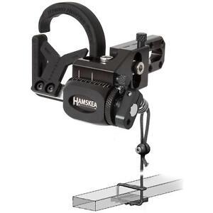 Hamskea Hybrid Hunter Pro Micro Tune Black Left Hand Rest