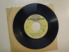 "MIKE & JOHN & BILL:(Early Mike Nesmith Of Monkees)How Can You Kiss Me-U.S.7"" 65"
