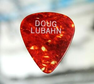 Doug Lubahn // Vintage Tour Guitar Pick / The Doors Ted Nugent Billy Squier