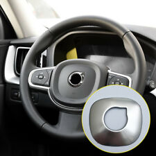 for Volvo XC60 2018 Steel Accessories Interior Steering Wheel Cover Trim Frame