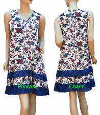 Rayon Hand-wash Only Floral Regular Size Dresses for Women
