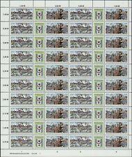 DDR Nr. 3338/39 postfrisch im Zusammendruckbogen, DV, Zdr-Bogen, Bogen