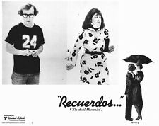 STARDUST MEMORIES Movie POSTER 11x14 Spanish Woody Allen Charlotte Rampling