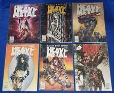 Heavy Metal Readers Lot of 6 Jan Mar May Sept Nov 1995 & Havoc Olivia Corben GD