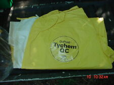 Dupont Full Suit Coverall With Hood Tychem Qc Lot Of 10 Size 4x