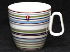 IITTALA ORIGO BEIGE Striped Vitro Porcelain Mug