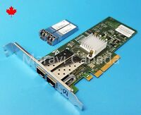 Brocade BR 825 2 Dual Port 8GB PCIe FC HBA Network Adapter w/ SFP 80-1001643-03