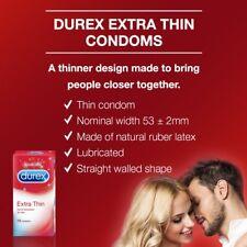 Durex Condoms, Extra Thin - 10 Count Extra sensation for her fs