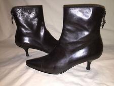 Stuart Weitzman Black Leather Boots 8.5M