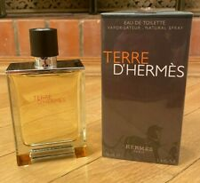 Hermes Terre d'Hermes Eau de Toilette 3.3 oz / 100 ml *AUTHENTIC & SEALED*