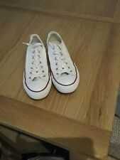 Ladies canvas trainers size 6 by ALL STAR converse