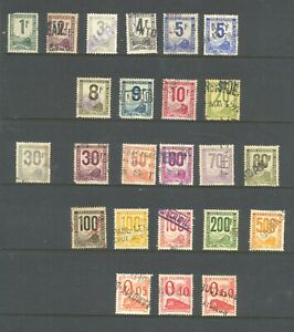 FRANCE ,  RAILWAY stamps used