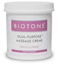 Biotone Dual Purpose Massage Creme 36 oz.