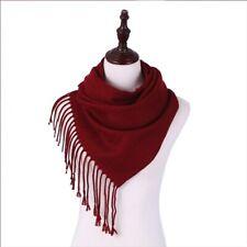 NEW Lady Winter Warm Scarf Cashmere Long Wrap Shawl Plaid Knit Scarf Pashmina A+
