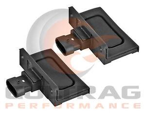 2005-2013 C6 Corvette Genuine GM Exterior Door Release Switch Pad Set 22751230