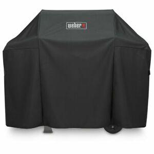 Weber 7139 Premium Gas Grill Cover for Spirit II 300 Spirit 200 300 - Black New
