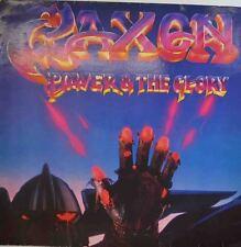 """SAXON - POWER & THE GLORY 12"""" LP (W302)"""