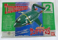 Thunderbirds Bandai Thunderbird 2 Diecast/Plastic Model with the Mole