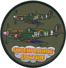 Battle of Britain Supermarine Spitfire Embroidered Patch