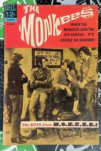 The Monkees #5 1967 Silver Age DELL Comics Photo Cover G/VF 3.0 Rock N' Roll!