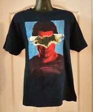 SUPERMAN Dawn of Justice Mens Blue Tee Batman vs Superman DC Comics T-Shirt