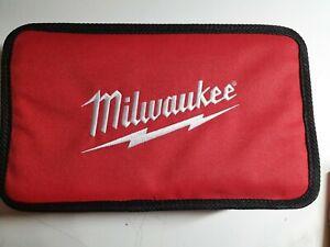 "Milwaukee 12"" x 7"" x 4""  M12 Li-Ion Empty Contractor Soft Case Tote Tool Bag"