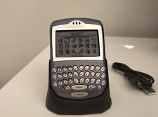 RARE QWERTY BlackBerry 7290 Satin Blue Unlocked Smartphone collectors item phone