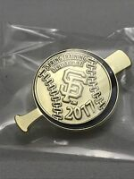 NEW- San Francisco Giants 2017 Spring Training Scottsdale Arizona Gold Pin Lapel