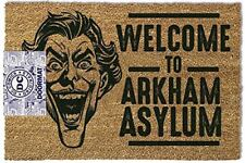 Dc Comics Joker 'welcome to Arkham Asylum' Paillasson
