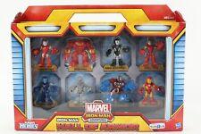 Playskool Heroes Marvel Iron Man Hall Of Armor 8 Pcs Figures 33U