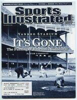 SI: Sports Illustrated September 22, 2008 It's Gone: Yankee Stadium, VERY GOOD